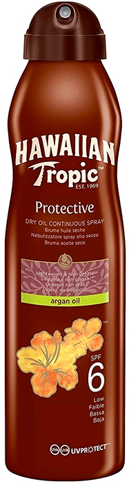 Protective Dry Oil Continuous Spray SPF6