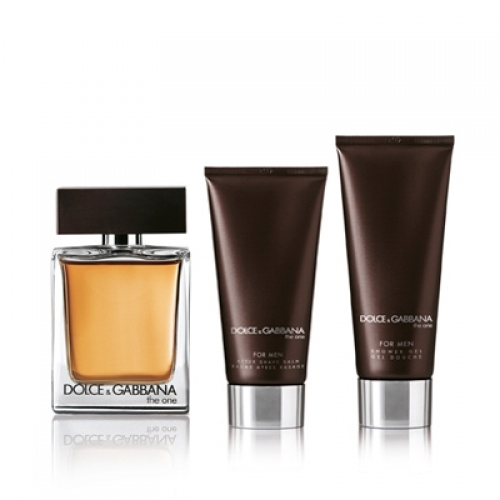 Set The One for Men 100ml + After Shave Balm 75ml + Shower Gel 50ml
