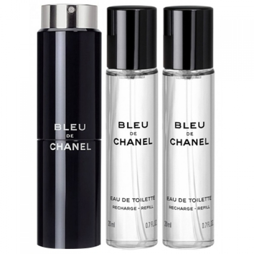 Set Bleu de Chanel 3x20ml - Recargable