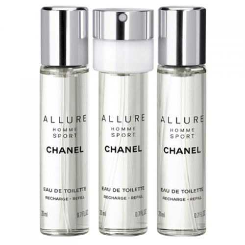 Set Allure Homme Sport 3x 20ml - Recarga