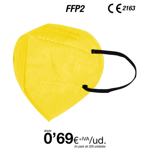 FFP2 Color Amarillo